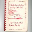 I'd Rather Eat In Rochester Celebrity Cookbook Regional Corpus Christi School New York 1988