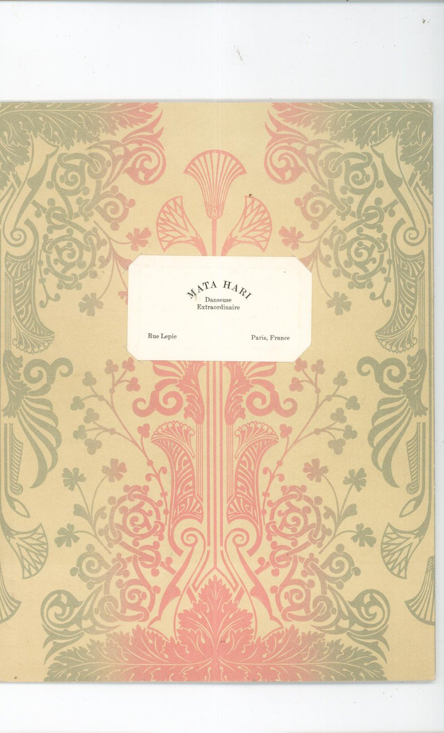 Union Camp Paper Company Catalog Virginia Fold Out