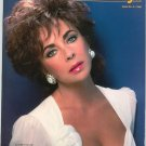 Liz Taylor Cover On Kodak Studio Lights Issue Number 2 1986