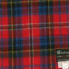 Vintage Glentana 100% Pure Wool Red MacPherson Scarf Made In Scotland Never Worn