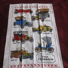 The Classics Tea Towel Vintage Cars