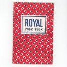 Royal Cookbook Cream Of Tarter Baking Powder Vintage 1940