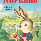 The Tale Of Peter Rabbit by Beatrix Potter Vintage Big Golden Book 1971 Hard Cover