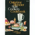Osterizer Blender Spin Cookery Cookbook With Instructions Vintage 1970
