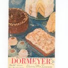 Dormeyer Electric Mix Treasures Cookbook / Manual Vintage Item Power Chef