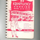 Kentucky Cooking New And Old Cookbook Vintage 1958 Colonelettes