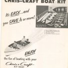 Chris Craft Boat Kit Catalog Complete With Price List / Order Form Vintage 1953