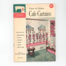 How To Make Cafe Curtains By Singer Book Number 114 Vintage