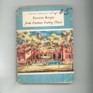 Favorite Recipes From Famous Eating Places Cookbook Vintage Lincoln Mercury Edition Ford Treasury