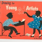 Drawing For Young Artists by Mary Black Diller Vintage Pitman 14