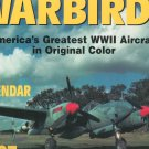 Warbirds 1997 Wall Calendar Never Opened WWII Aircraft In Original Color