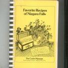 Favorite Recipes Of Niagara Falls Cookbook Regional Crafts Museum Vintage First Printing