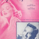 Peg O' My Heart Sheet Music Vintage Robbins Music Corp.