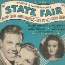 That's For Me Sheet Music Vintage Williamson Music State Fair