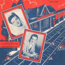 Waitin For The Train To Come In Sheet Music Vintage Martin Block Music