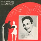 What's New ? Sheet Music Vintage M. Witmark Bob Crosby