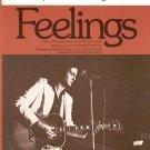 Feelings Bradley Advanced Organ Solo Sheet Music Vintage Fermata International