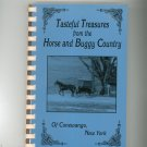 Tasteful Treasures From The Horse And Buggy Country Cookbook Conewango New York