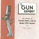 The Gun Report November 1976 Timothy Bolton Model 1795 Musket Vintage
