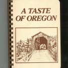 A Taste Of Oregon Cookbook Junior League 0960797602
