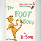 The Foot Book By Dr. Seuss Hard Cover