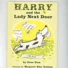 Harry And The Lady Next Door By Gene Zion Hard Cover