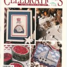 Leisure Arts Publication Celebrations To Cross Stitch & Craft Summer 1991