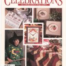 Leisure Arts Publication Celebrations To Cross Stitch & Craft Autumn 1991