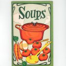 Soups Cookbook by Irena Chalmers Vintage 1975