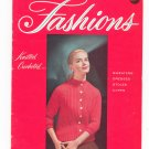 Vintage Fashions Knitted & Crocheted American Thread Star Fashions Book No. 125 1956