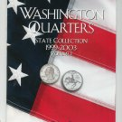 Washington Quarters State Collection 1999 - 2003 Volume I Collector Coin Folder Harris