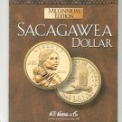 Millennium Edition Sacagawea Dollar Collector Coin Folder Harris