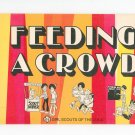 Feeding A Crowd Cookbook Vintage Girl Scouts Of The USA 19-9771