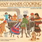 Many Hands Cooking Cookbook International Girls & Boys UNICEF Cooper Ratner