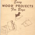 Easy Wood Projects For Boys Vintage Pack O Fun