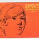 Drawing Faces & Expressions Victor Perard's Vintage Pitman 11