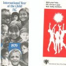 Vintage International Year Of The Child Brochure Lot Of 2 1979