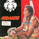 Vintage Indians Whalen Fine Papers by Kimberly Clark Advertising Brochure 1974
