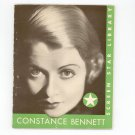 The Life Story Of Constance Bennett by Mary McBride Vintage Screen Star Library 1932