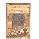 Carols For Christmas Advertising / Promotion Rochester Savings Bank New York
