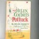 Helen Corbitt's Potluck Cookbook Neiman Marcus Vintage 1962