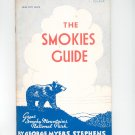 The Smokies Guide by George Myers Stephens Vintage Revised 1962