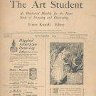 The Art Student November 1895 Vintage