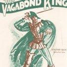 The Vagabond King Souvenir Book Vintage Russell Janney Presents