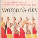 Womans Day February 1954 Vintage Wardrobe Of Sparkling Work Togs