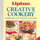 Lipton Creative Cookery Cookbook Lipton's Soup Mix 0517641488