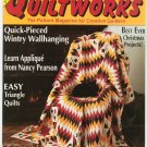 Traditional Quiltworks Magazine Issue 17 January 1992 17 Patterns