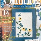 McCall's Quilting Magazine Back Issue April 1999 With Pattern Insert
