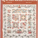 Quilter's Newsletter Magazine October 1985 Issue 176