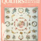 Quilter's Newsletter Magazine June 1983 Issue 153